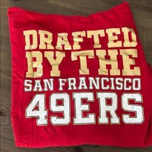 VS Pink NFL Sweatshirt 49ers